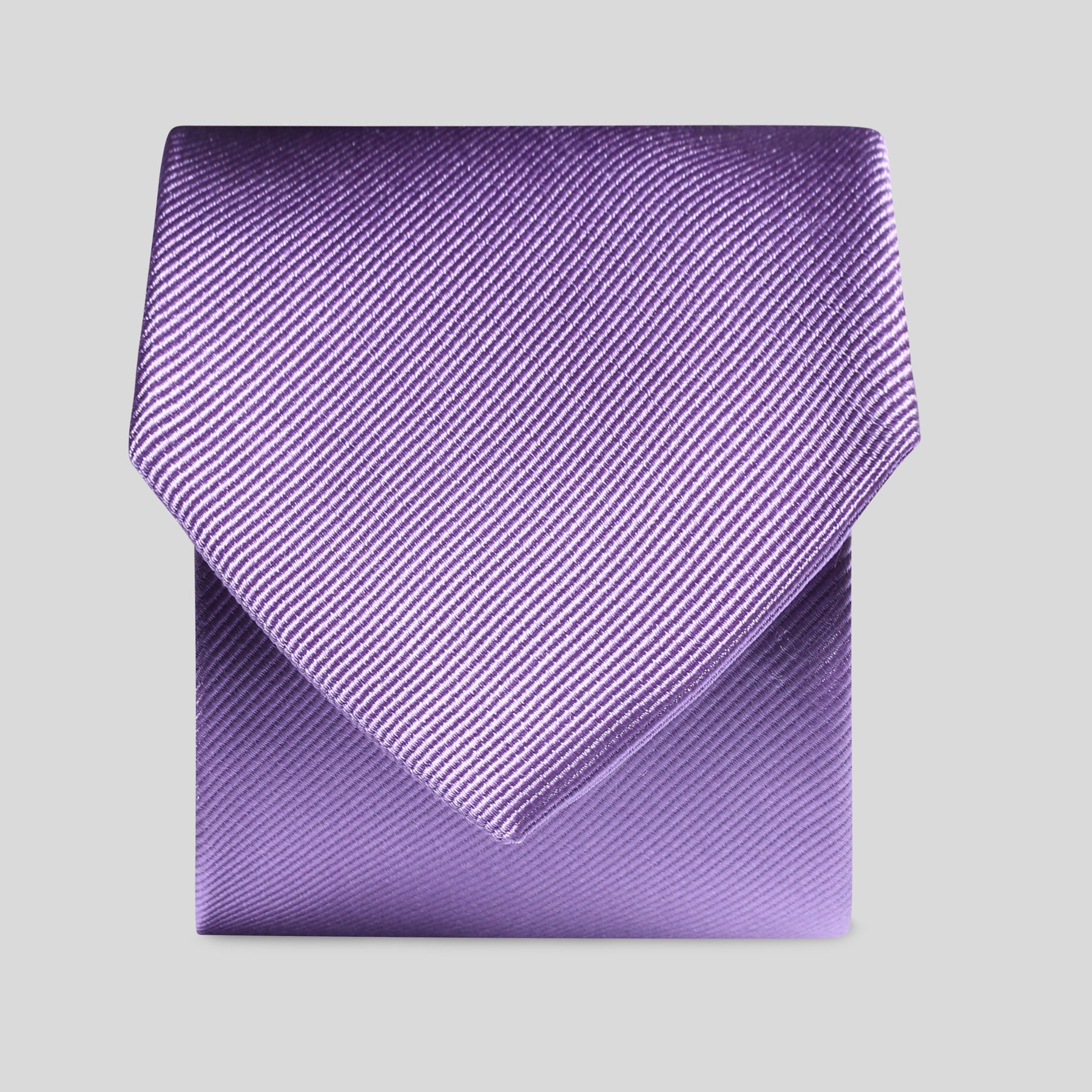Folkespeare Violet Silk Classic Tie