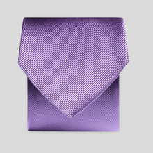 Load image into Gallery viewer, Folkespeare Violet Silk Classic Tie