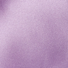 Load image into Gallery viewer, Folkespeare Lavender Satin Slim Tie Fabric