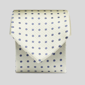 TS4160-02-Folkespeare-Lemon-With-Navy-Polka-Dot-Slim-Tie-1