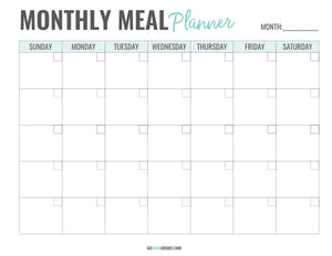 Meal Planning Kit