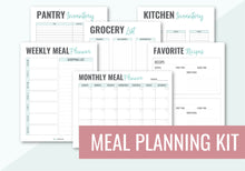 Load image into Gallery viewer, Meal Planning Kit