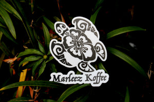 Marleez Koffee Turtle Die Cut Sticker