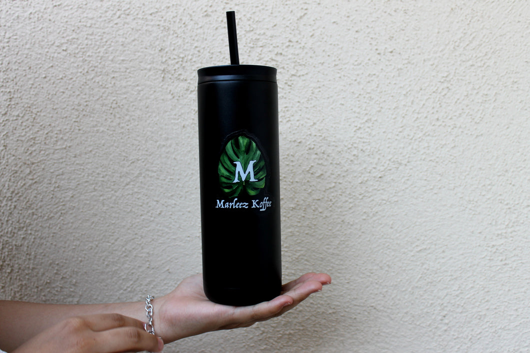 Marleez Koffee 20oz Tumbler With Straw