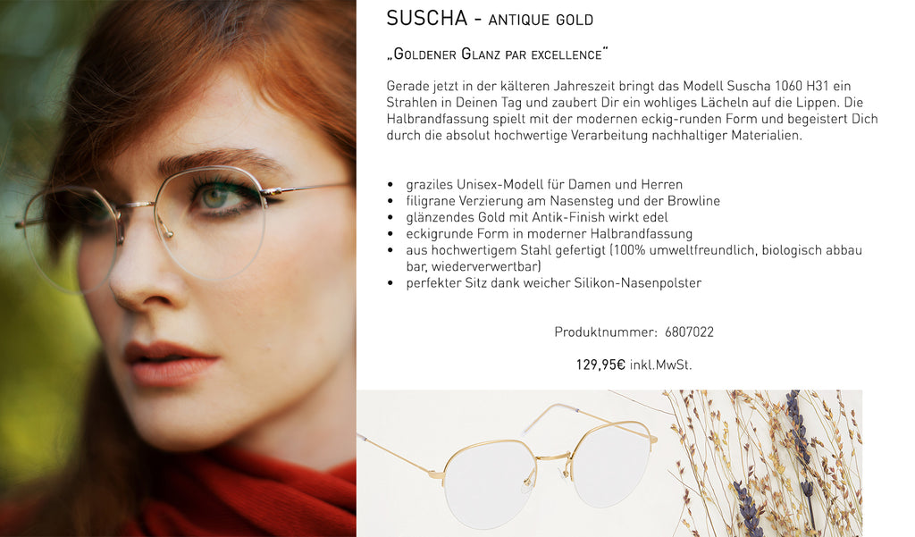 SUSCHA - antique gold