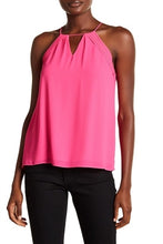 Load image into Gallery viewer, Hot Pink Keyhole Tank