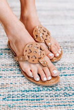 Load image into Gallery viewer, Mocha Medallion Sandal (No Box)