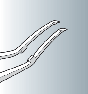 Capsulorhexis forceps curved tips SC32
