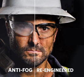 Uvex HydroShield™ Anti-Fog Lens Coating: Technology