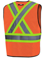 Pioneer High Visibility Tear-Away Vest  Style 6926