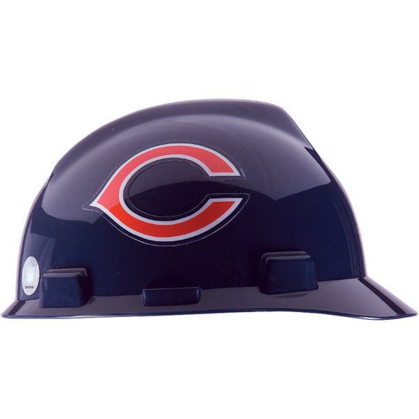 MSA Chicago Bears NFL V-Gard® Team Hardhat