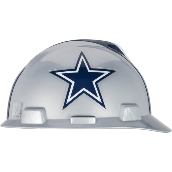 MSA Dallas Cowboys NFL V-Gard® Team Hardhat