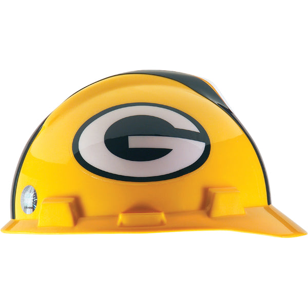 MSA Green Bay Packers NFL V-Gard® Team Hardhat