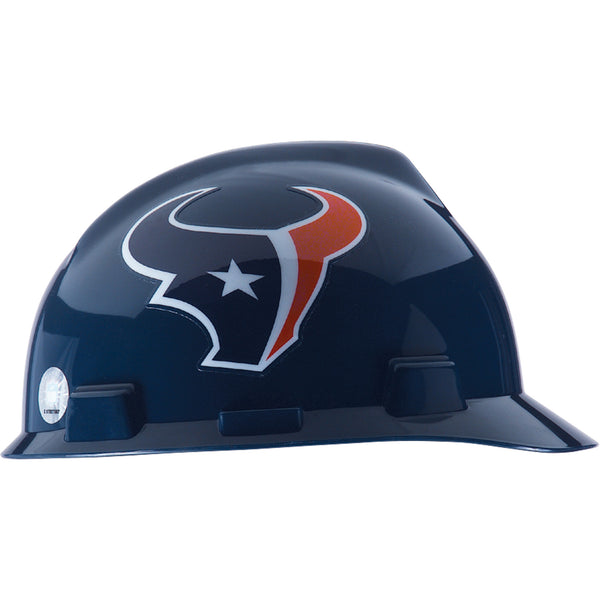 MSA  Houston Texans NFL V-Gard® Team Hardhat