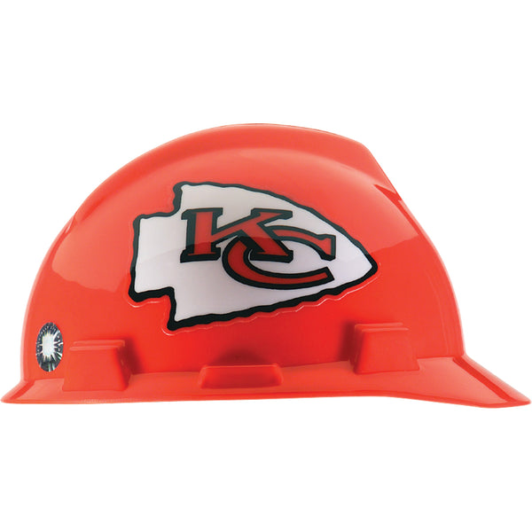 MSA Kansas City Chiefs NFL V-Gard® Team Hardhat