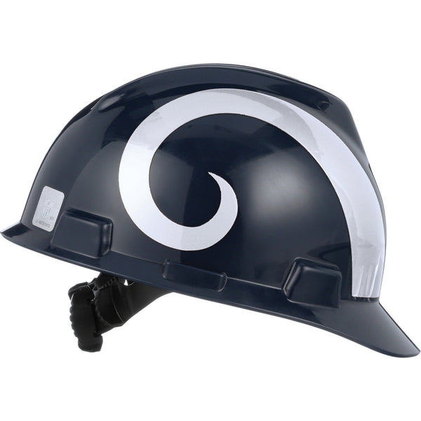 MSA Los Angeles Rams NFL V-Gard® Team Hardhat