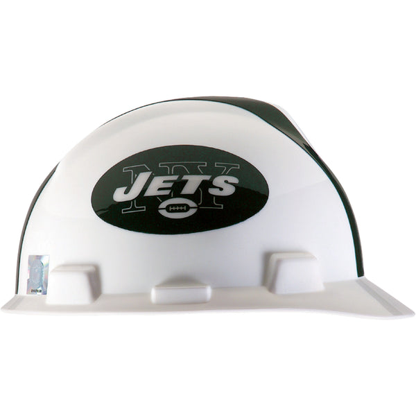 MSA New York Jets NFL V-Gard® Team Hardhat