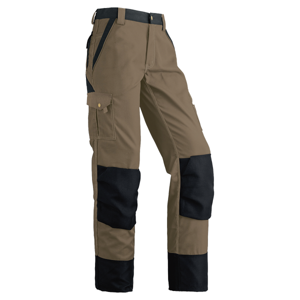 Pioneer EUROWEAR™ Work Pants - Poly/Cotton Canvas - Knee Pad Pouches - Beige