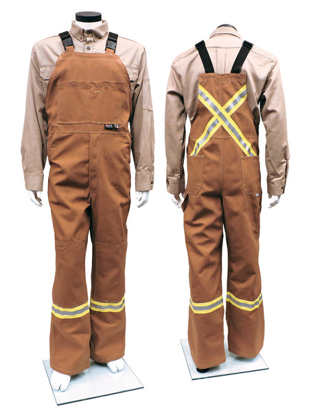 Style 3122 - Avenger 12 oz Duck Bib Pants - Carmel Duck