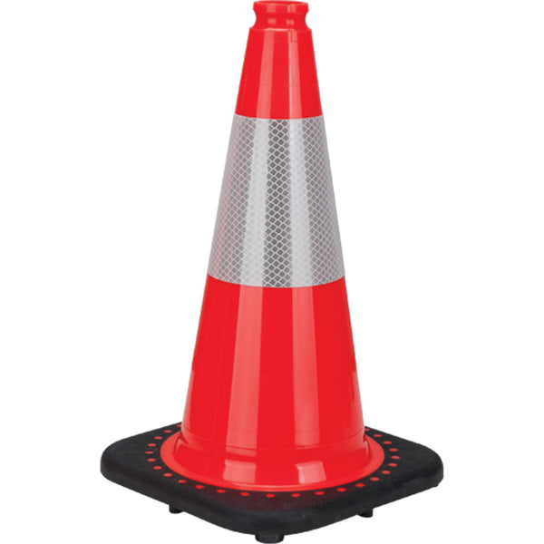 Premium Traffic Cone with Reflective Collar