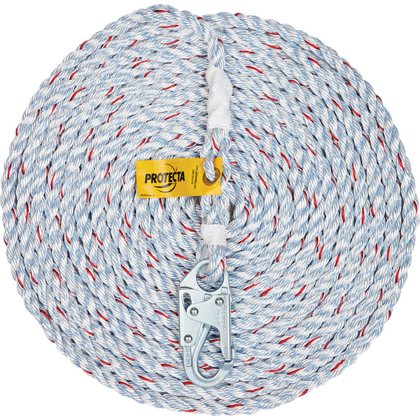 3M Protecta Fall Protection Rope Lifeline with Snap Hook