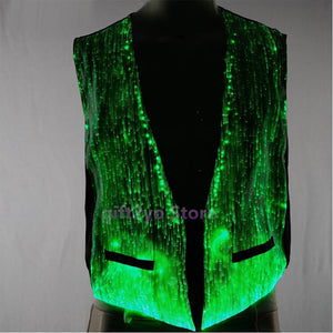 Mens Light up Vest