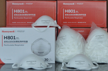 Load image into Gallery viewer, Honeywell H801 KN95 with HEADWRAP - CDC tested (30 pieces at $2.99/Respirator) - KN95 Respirator Masks For Sale