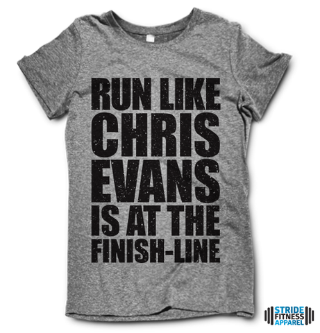 Run Like Chris Evans Is At The Finish Line