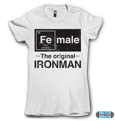 Female. The Original Iron Man.