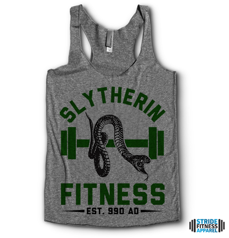 Slytherin Fitness | Racerback