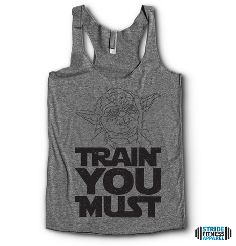 Train You Must Racerbacks