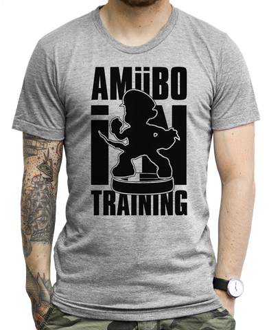 Amiibo in Training on a Tee Shirt