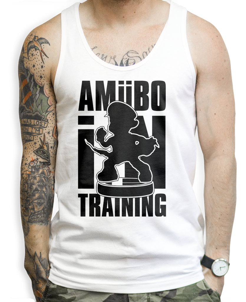 Amiibo in Training on a Unisex Tank Top