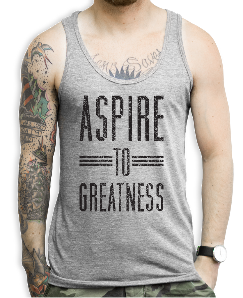 Aspire To Greatness Tank Tops