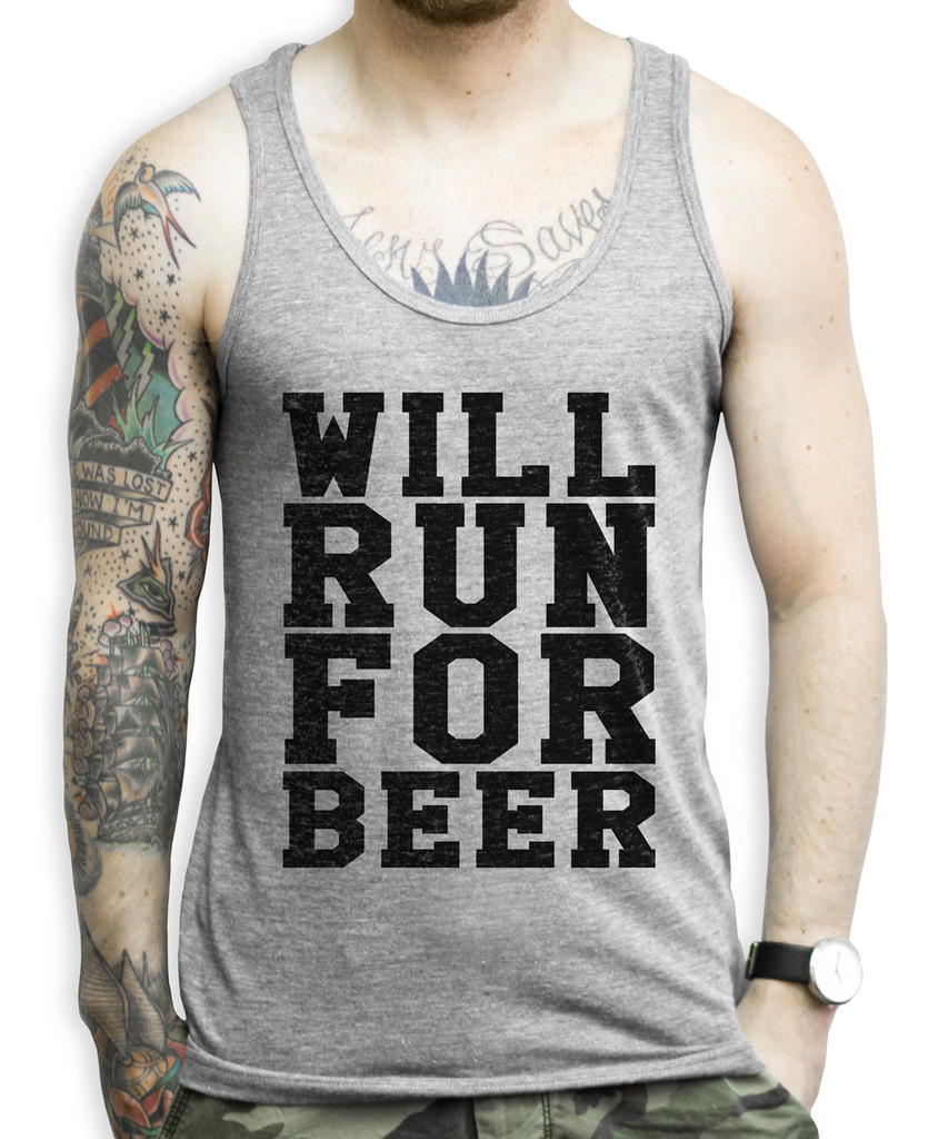 Funny Mens Workout Tank Top