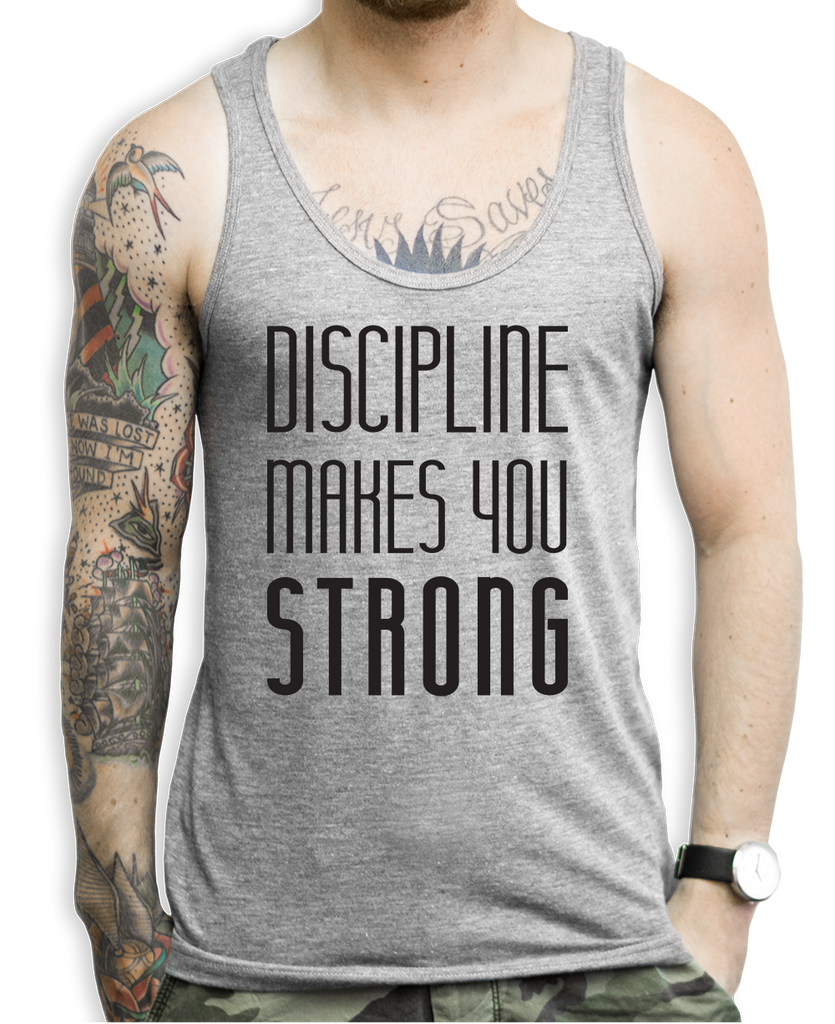 Discipline Makes You Strong Tank Top
