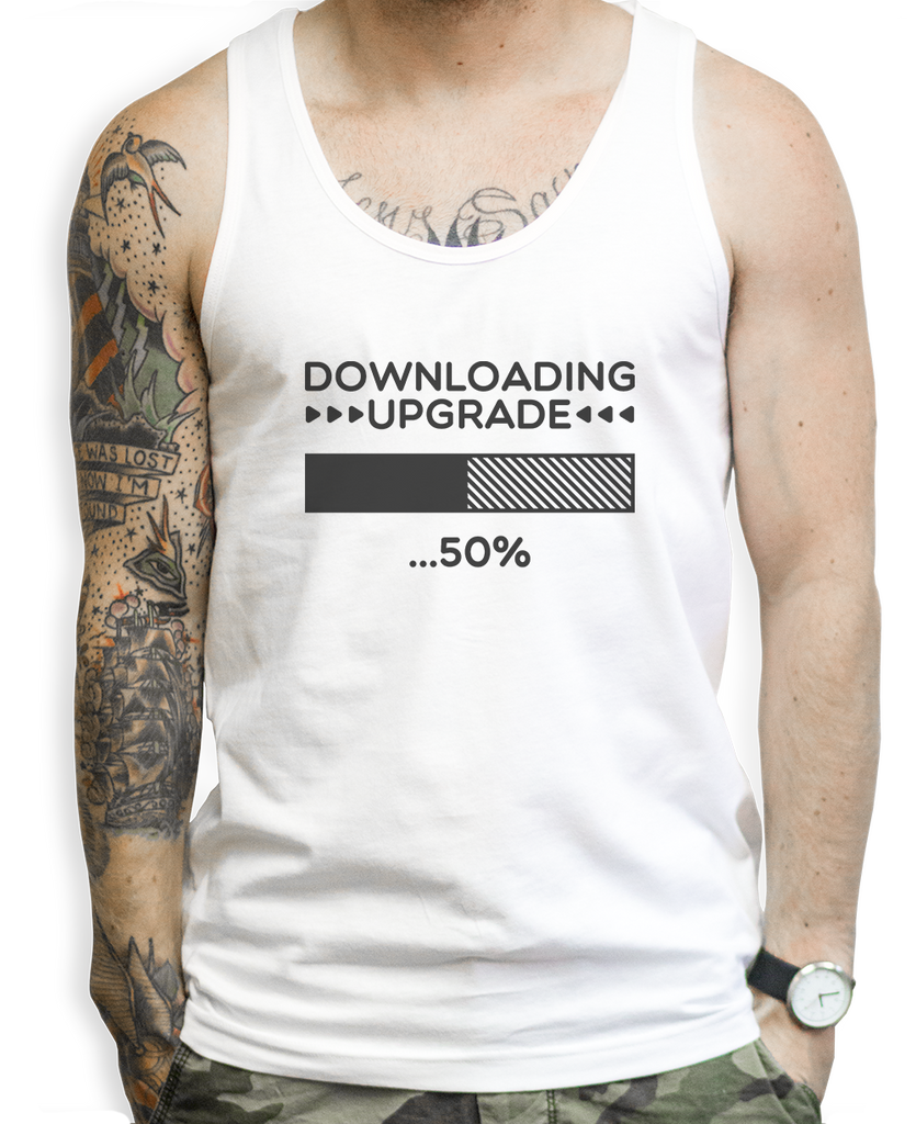 Downloading Upgrade Tank Tops