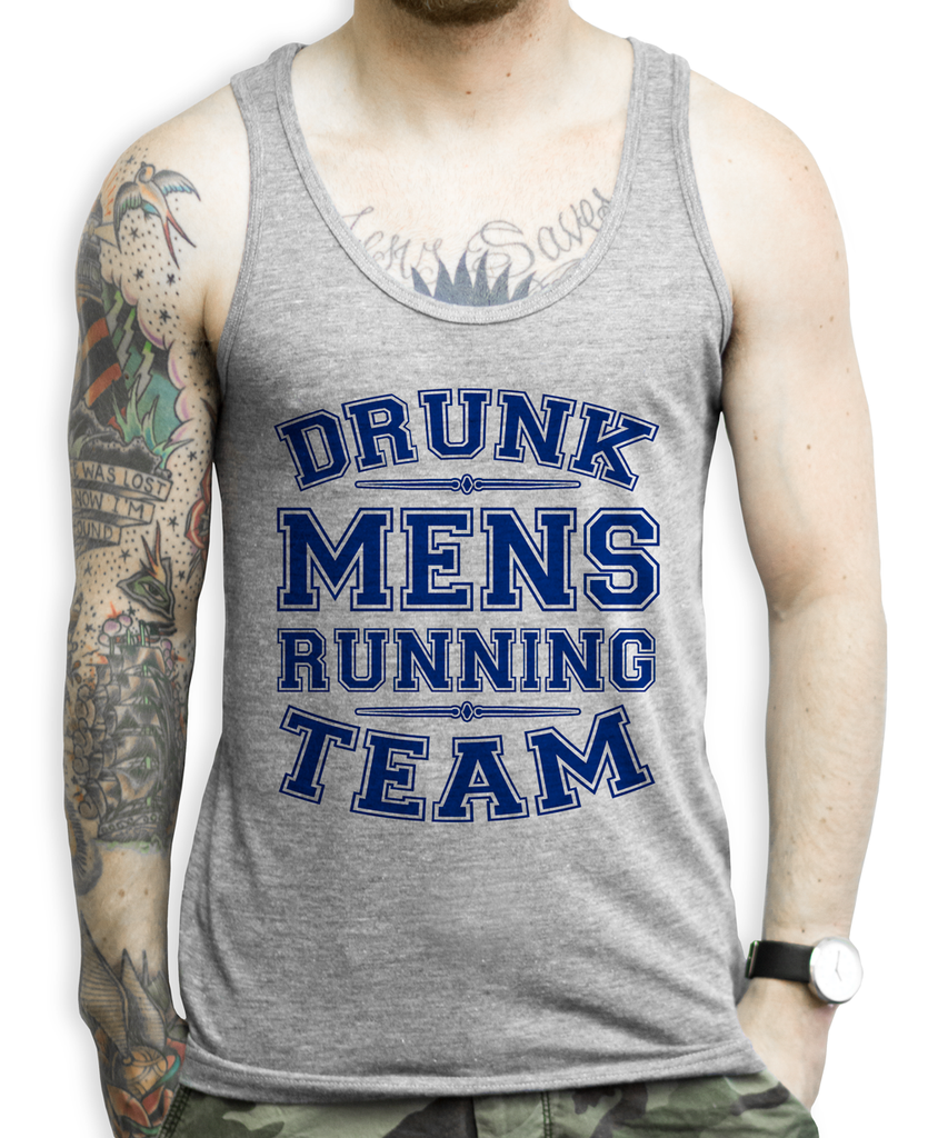 Funny Mens Running Tank Top