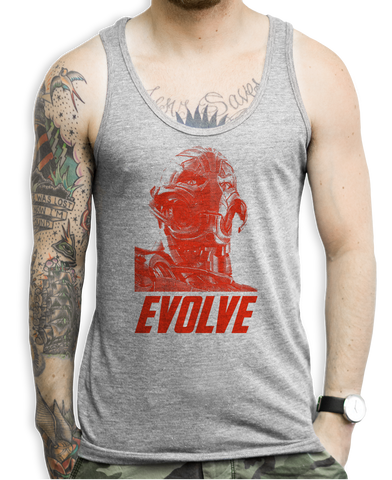 Evolve (red) Tank Tops