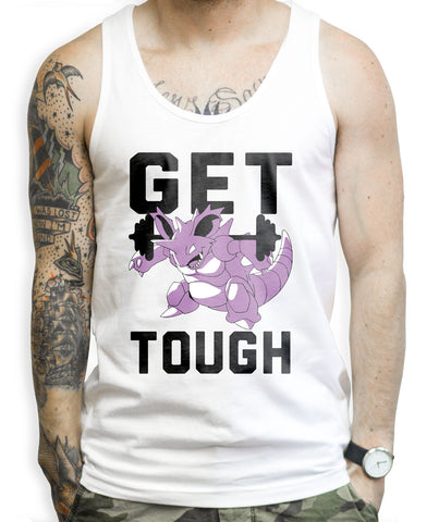 Get Tough on a White Tank Top