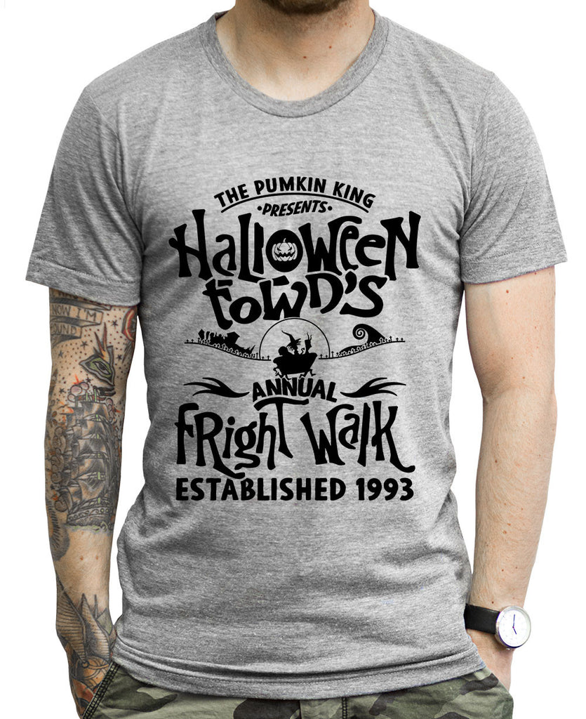 Halloween Town Fright Walk Tank Tops