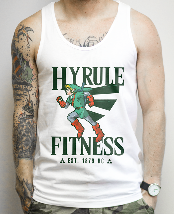 Zelda Fitness Shirt