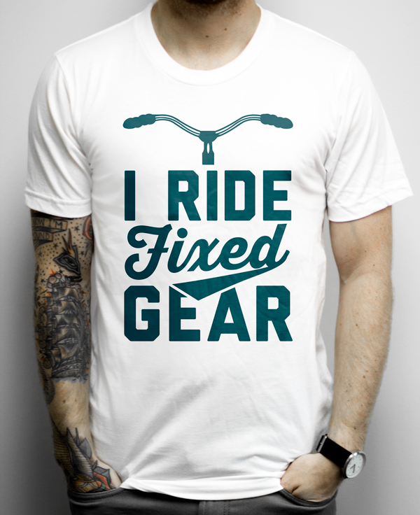 Awesome Fixed Gear Shirt