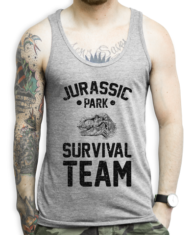 Jurassic Park Workout Tank Top