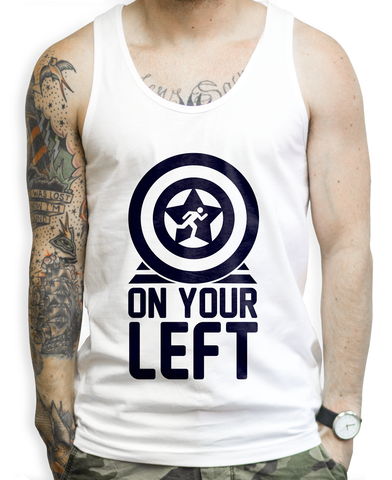 Captain America Workout Tank Top