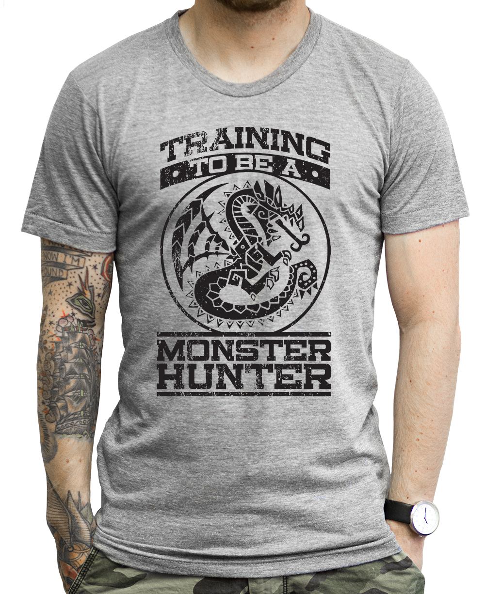 085702f5 Monster Hunter T Shirts – Stride Fitness Apparel