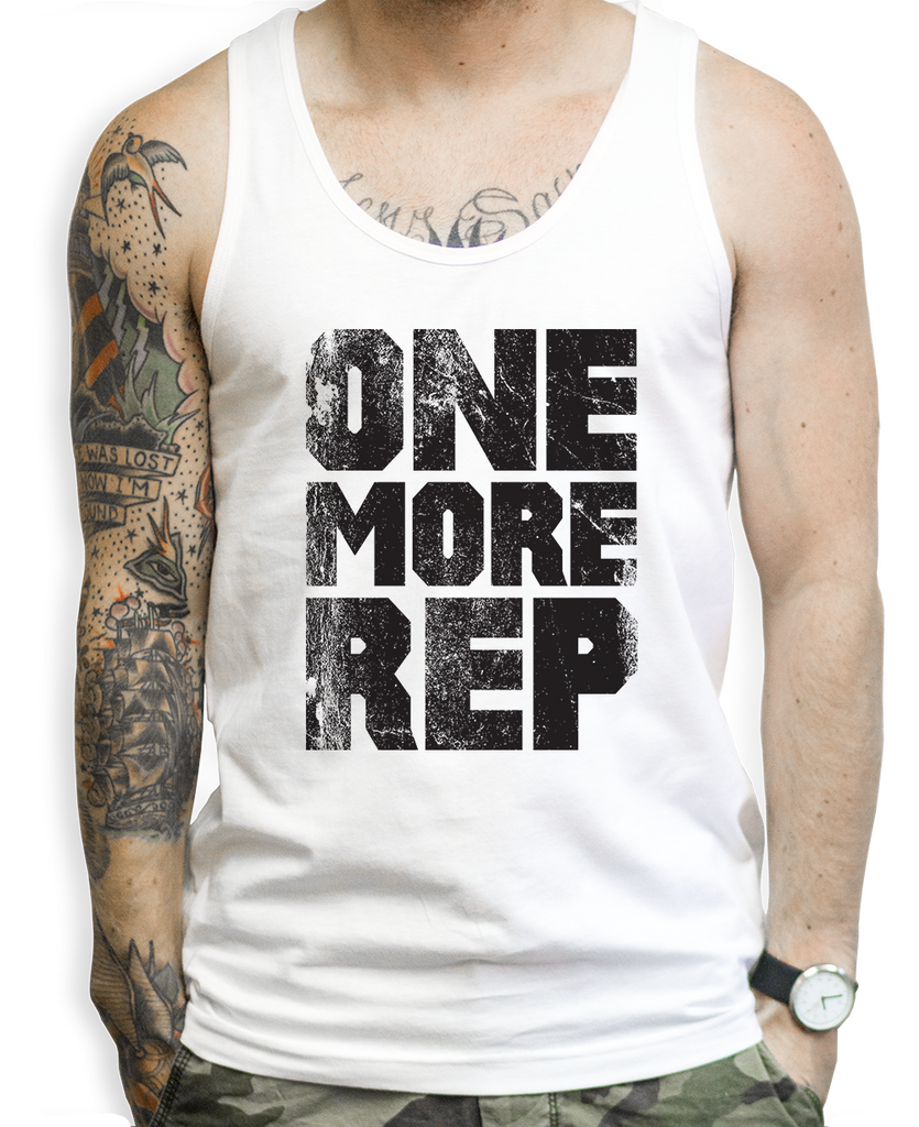 One More Rep Tank Tops