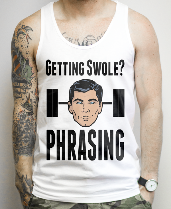 Funny Archer Workout Shirt