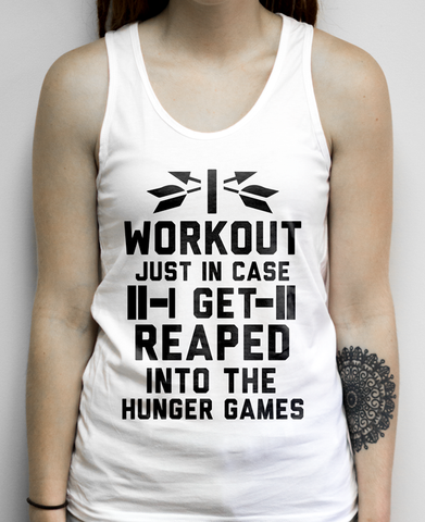 Nerdy Hunger Games Workout Shirt