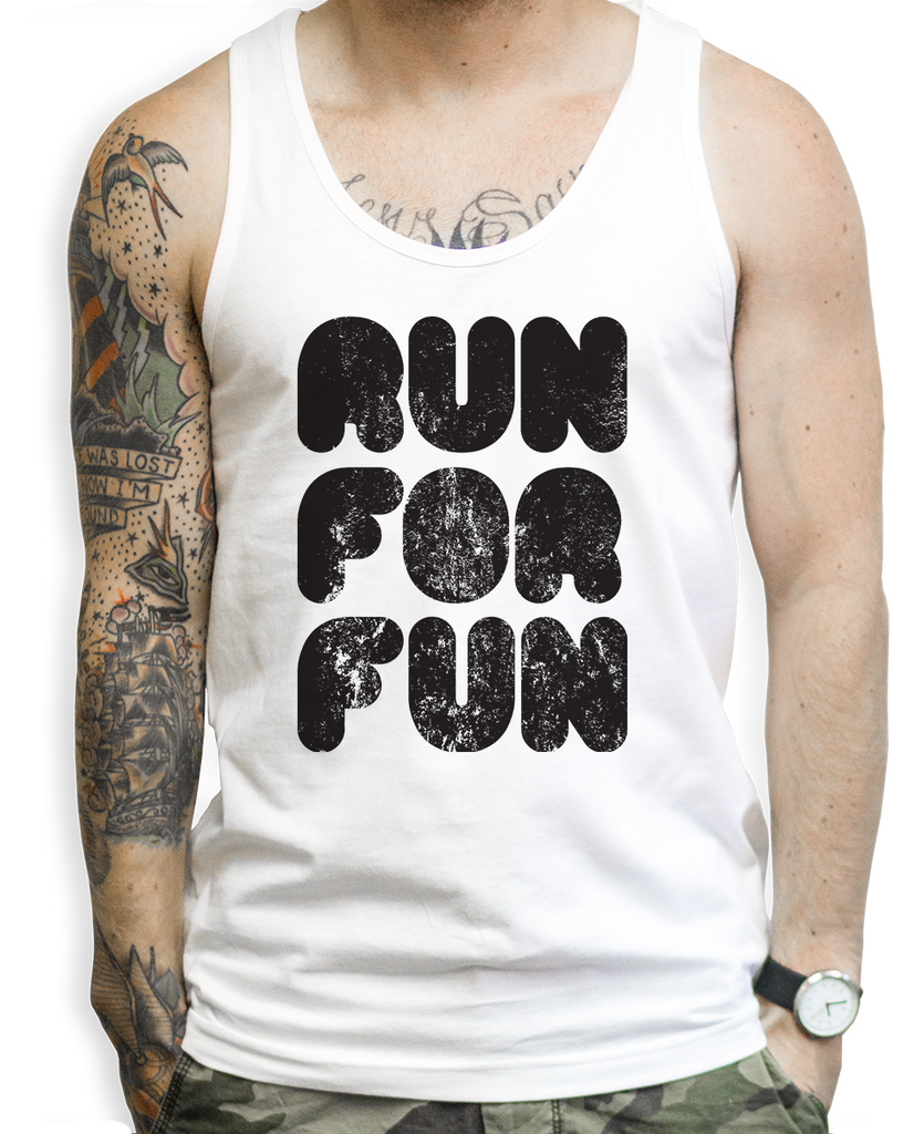 Run For Fun Tank Tops